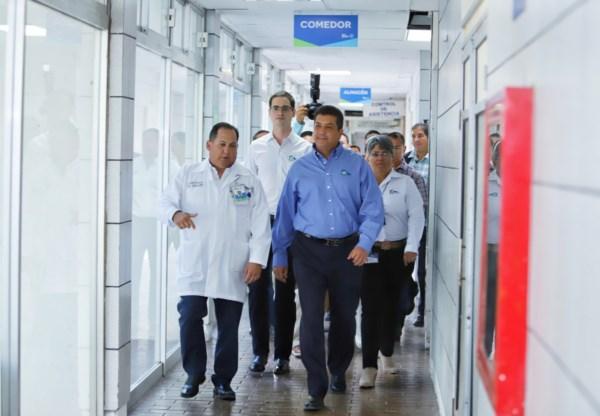 El Hospital General Reynosa, atiende a una población estimada en casi 600 mil habitantes