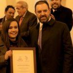 condecorar a los ganadores del Tercer Premio Estatal de Periodismo de Investigación