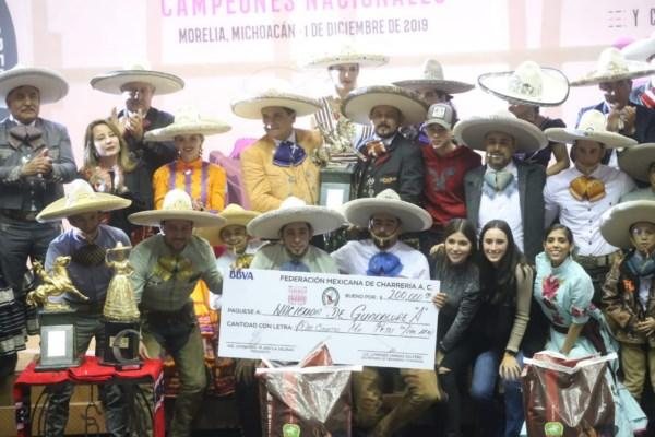 """Campeonato Nacional Charro """"José María Morelos y Pavón"""" 2019"""
