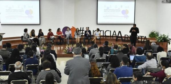 """""""Foro Internacional para una Justicia Abierta"""