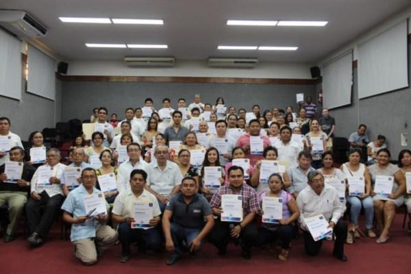 personas que ya cuentan con su certificado podrán replicar las enseñanzas en sus respectivos espacios de trabajo.