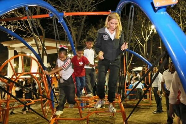 """""""Parque Oaxaca"""", espacio público ubicado en la colonia Miguel Alemán de la capital oaxaqueña."""