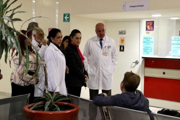las acciones que lleva a cabo el Gobierno de la Ciudad de México para ofrecer un servicio de calidad en materia de salud.