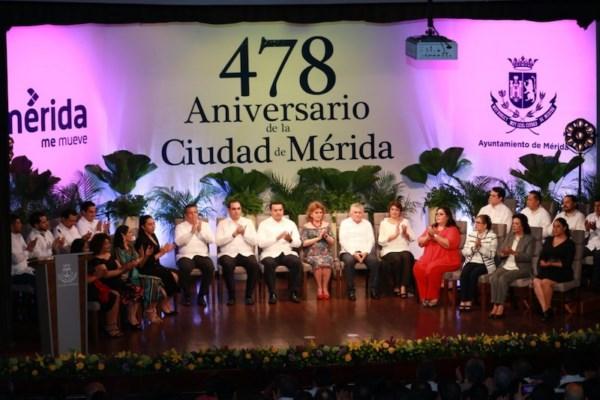 478 aniversario de la fundación de la ciudad.