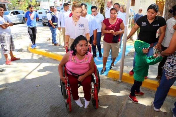 , Ivette Morán de Murat, inauguró el arranque de las Caravanas Deportivas,