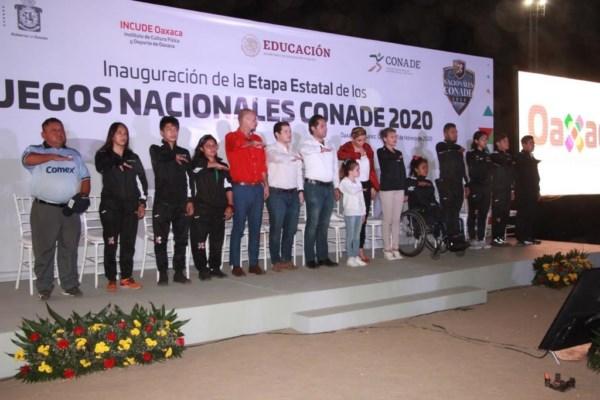 inició formalmente la etapa Estatal de los Juegos Nacionales Conade 2020