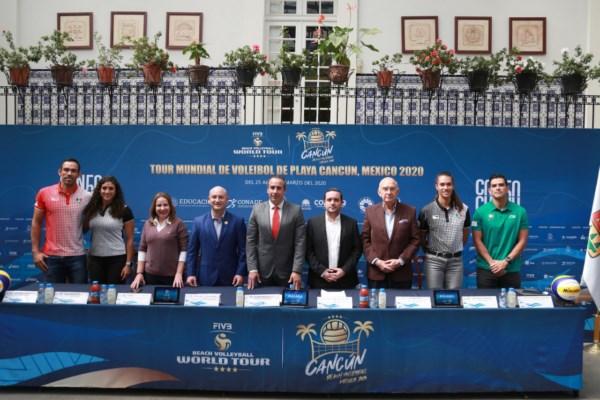 Tour Mundial de Voleibol de Playa México 2020- 4 estrellas,