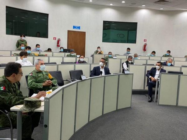 Personal militar y naval se encuentran listos para atender y apoyar a la población oaxaqueña
