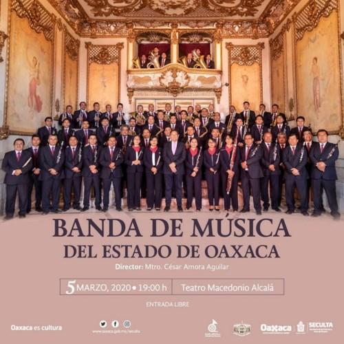 este concierto será la presentación como director del maestro César Amora Aguilar