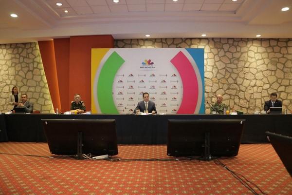 Los trabajos estarán articulándose entre la Mesa Estatal de Coordinación para la Paz en Michoacán y la SSM