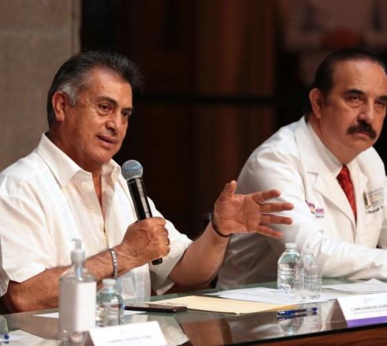 Registra Nuevo León cinco casos más de COVID-19, uno de ellos por transmisión comunitaria.