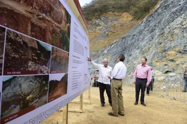 la obra dispone de 400 millones de pesos y el mandatario afirmó que la federación erogará más recursos si se necesitaran.