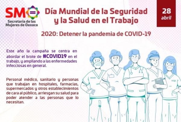 · La SMO pide aplicar perspectiva de género en comunidad laboral hacia la resiliencia