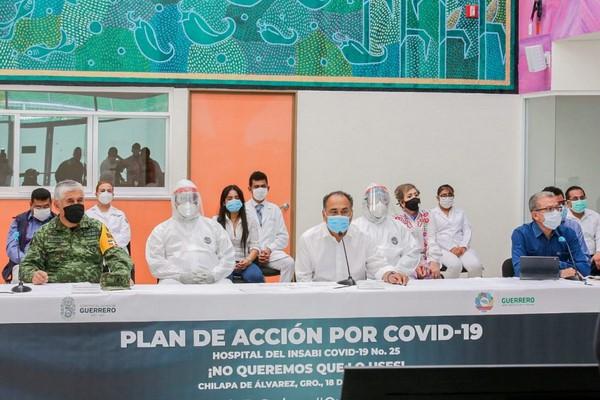 * Guerrero suma 856 casos positivos de COVID-19, 112 decesos y suman ya 40 municipios con contagios: Carlos de la Peña