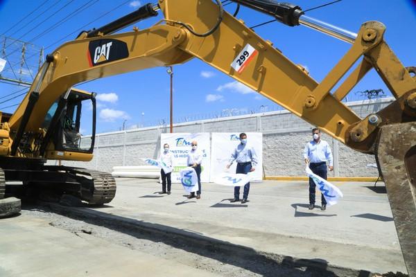 Los trabajos a realizarse contemplan la rehabilitación del Acueducto Anzaldúas- Reynosa