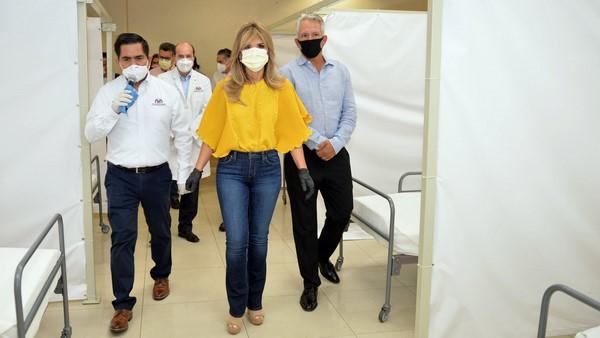 Recibirá Hospital temporal Covid-Isssteson primeros pacientes