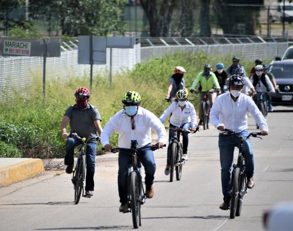 para fomentar el uso de la bicicleta.