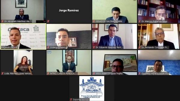 En el marco del Día del Abogado y la Abogada, el Gobernador se reunió de manera virtual