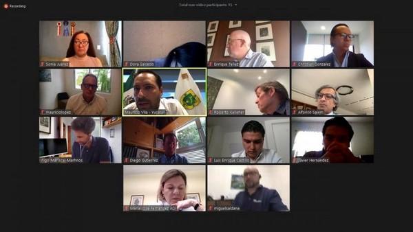 videoconferencia ante miembros de la Asociación de Desarrolladores Inmobiliarios (ADI).