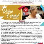"""""""Reina Estatal del Adulto Mayor 2020"""""""