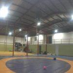 Se mejoró la instalación eléctrica, muebles sanitarios y conexiones de luz, además de la instalación de un gimnasio de pesas