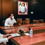 Reconoce respaldo del presidente AMLO a Campeche