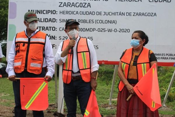 Con una inversión de 41.91 millones de pesos se dan inicio a dos importantes obras de conectividad