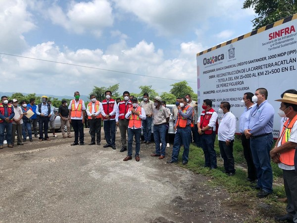 Inicia CAO obras carreteras en la Cuenca y el Istmo