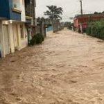 cinco municipios afectados por las lluvias de la Cuenca del Papaloapan, Istmo y Sierra Sur.