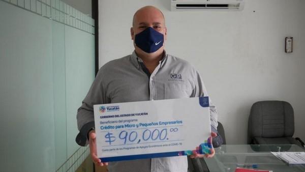 A la fecha, el IYEM ya ha canalizado 17.5 millones de pesos en créditos de este fondo en beneficio de 440 empresas.