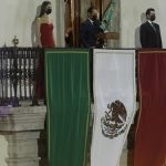 Honra Gobernador a personal de salud en ceremonia del Grito de Independencia
