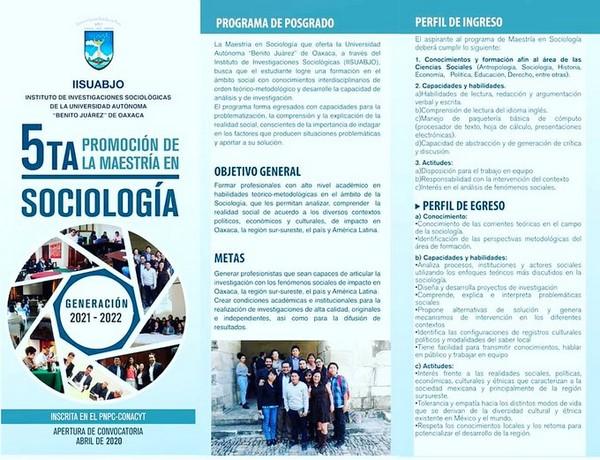· El registro está abierto hasta el 15 de octubre en www.iisuabjo.edu.mx