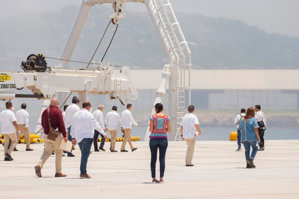 """este es uno de los mejores años de la historia de Oaxaca, si no es que el más importante, en términos de inversión en infraestructura"""""""