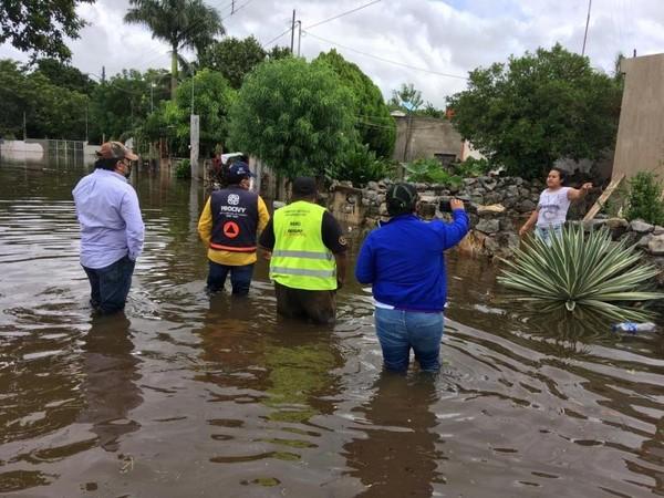 """para proteger y apoyar a la población afectada por el paso de """"Zeta"""" en Yucatán."""