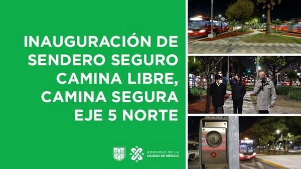 """Camina Segura"""" son parte de las medidas de Alerta de Género en la ciudad"""