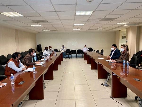 diálogo con la Semaedeso e integrantes de la Confederación Nacional de Industriales de Metales y Reciclados