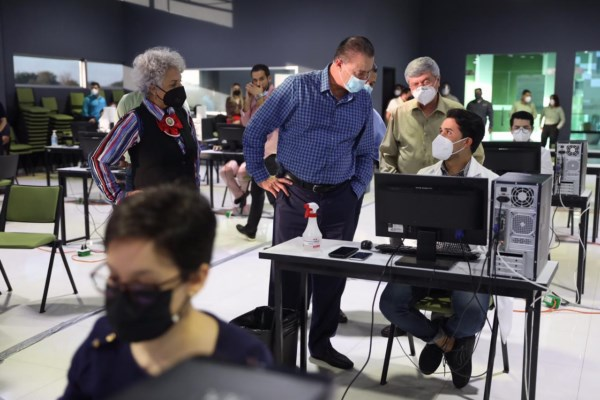 que han atendido y dado seguimiento a 77 mil personas desde que inició la pandemia.