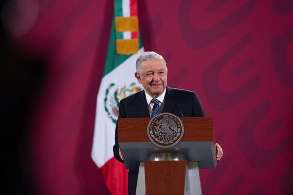 El presidente Andrés Manuel López Obrador encabezó la presentación del Informe Anual del Sistema Nacional de Protección Civil.