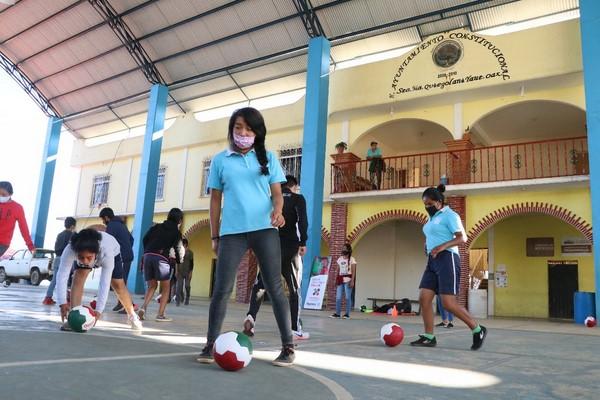 Con las medidas sanitarias, personal del Instituto estuvo con 60 niños, niñas y adolescentes durante dos día