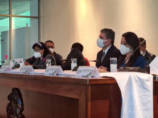 Juan Carlos Márquez Heine, titular de los SSO, compareció ante el Congreso del Estado