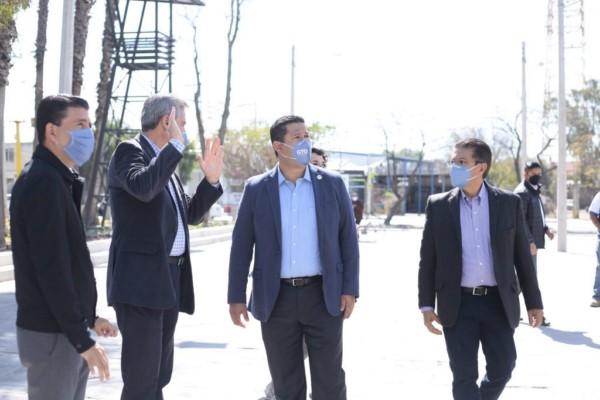 Entrega el Gobernador del Estado, Diego Sinhue Rodríguez Vallejo, la II etapa de remodelación del Parque Juárez.