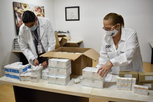 · Se destinaron más de 1.5 millones de pesos para dar continuidad a los tratamientos oncológicos de infantes
