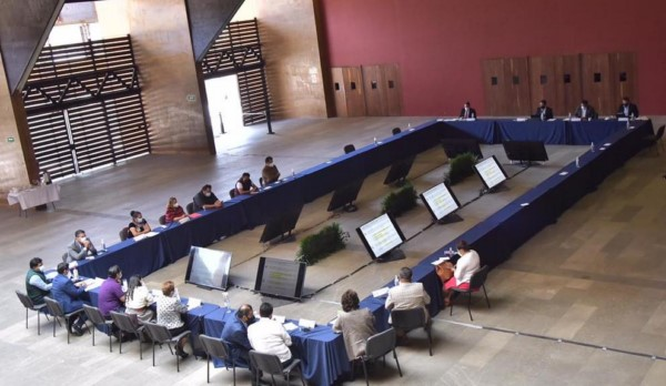 En reunión de trabajo con Sefin, congresistas solicitan esclarecer la redistribución de recursos durante la pandemia.
