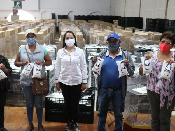 Entrega Bienestar 120 mil litros de leche en Izúcar de Matamoros