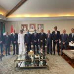 como para fortalecer lazos diplomáticos, el gobernador Martín Orozco Sandoval se reunió con los integrantes del Consejo de Embajadores Árabes en el país,