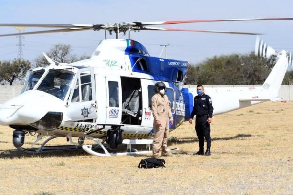 dispuso que desde el pasado viernes comenzaran las labores de patrullaje aéreo