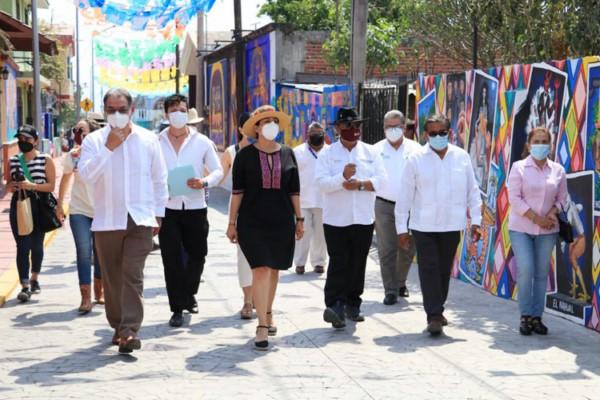 -La secretaria Marta Ornelas aseguró que este corredor será un referente turístico y cultural