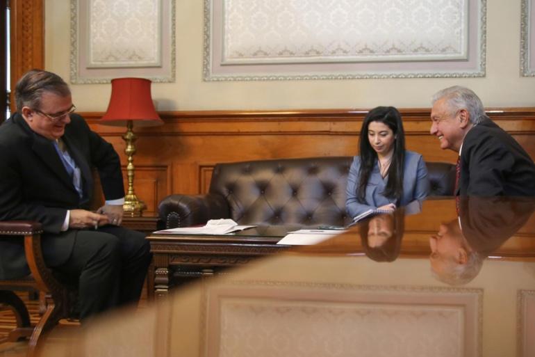 López Obrador sostuvo una conversación telefónica con la vicepresidenta de Estados Unidos, Kamala Harris.