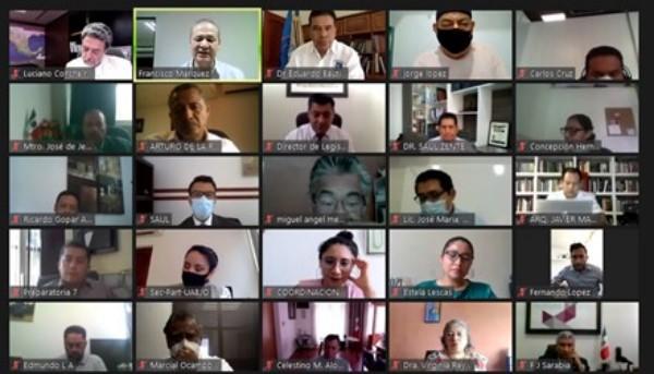 · Se realizó una reunión con autoridades universitarias y académicas de 97 instituciones públicas y privadas del estado