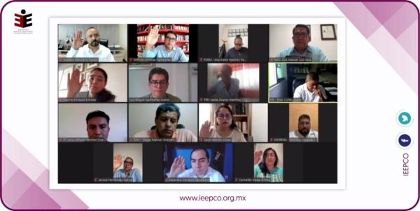 IEEPCO aprueba 37 sustituciones de candidaturas en Diputaciones y Concejalías